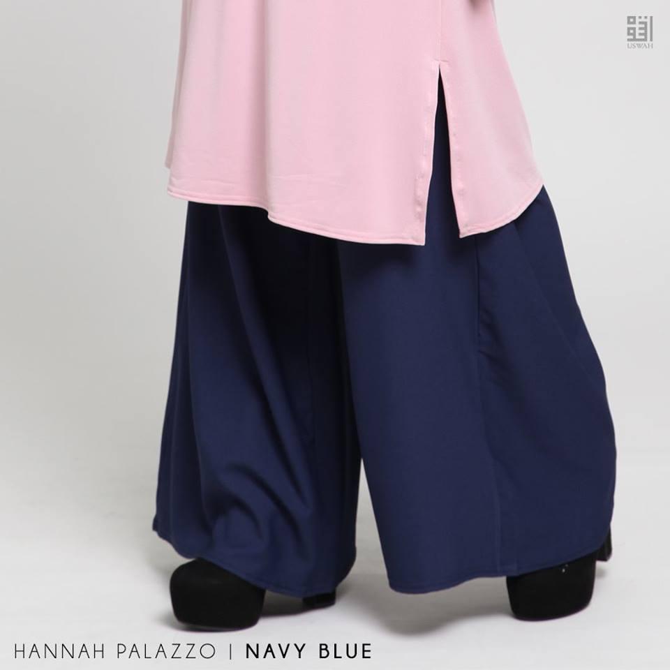 PALAZZO HANNAH NAVY BLUE