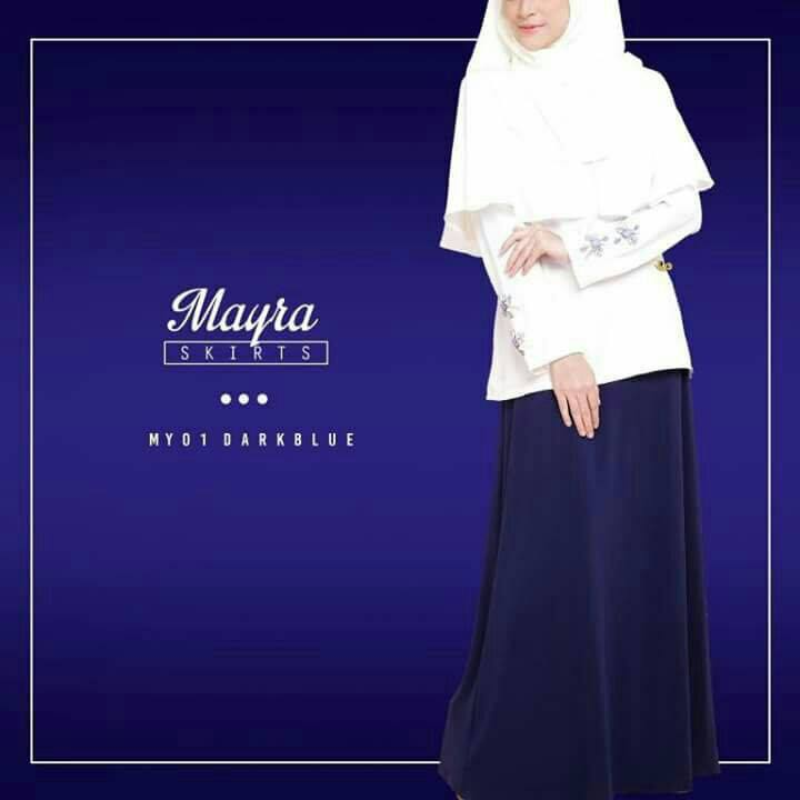 SKIRT MAYRA MY01 DARKBLUE B