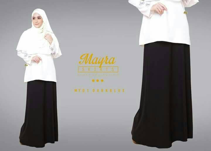 SKIRT MAYRA MY01 DARKBLUE
