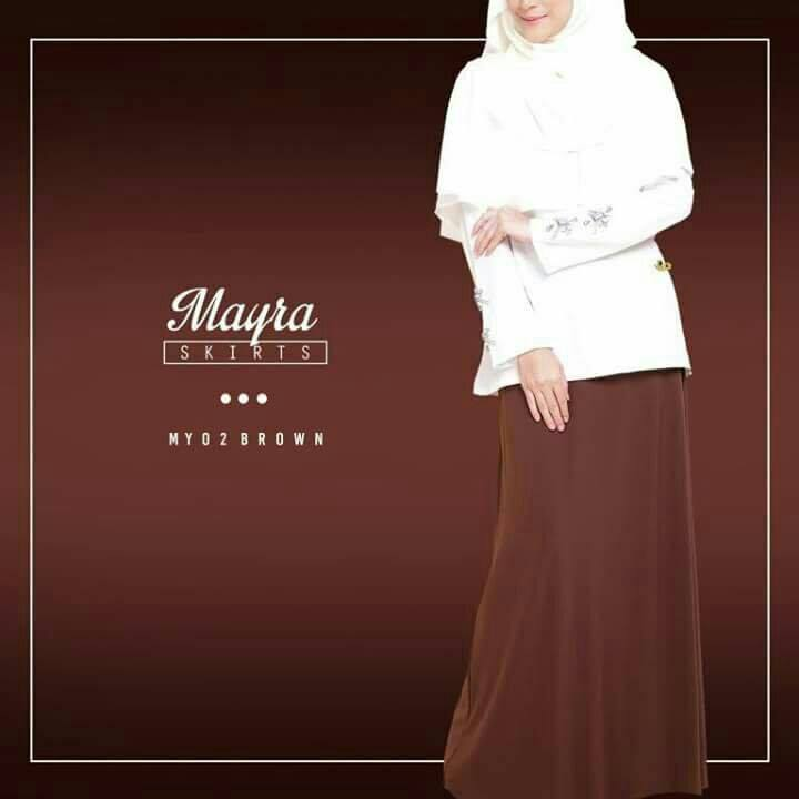 SKIRT MAYRA MY02 BROWN B