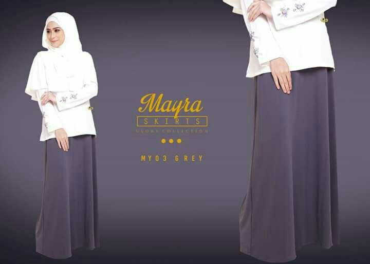 SKIRT MAYRA MY03 GREY B