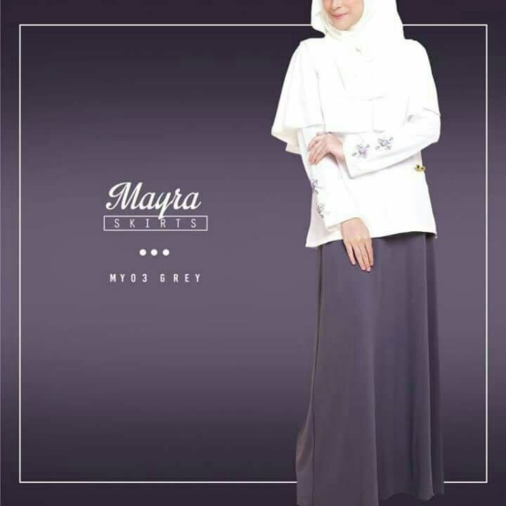 SKIRT MAYRA MY03 GREY