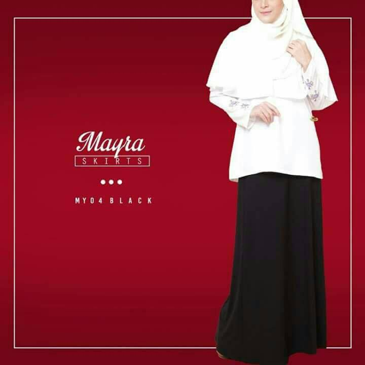 SKIRT MAYRA MY04 BLACK