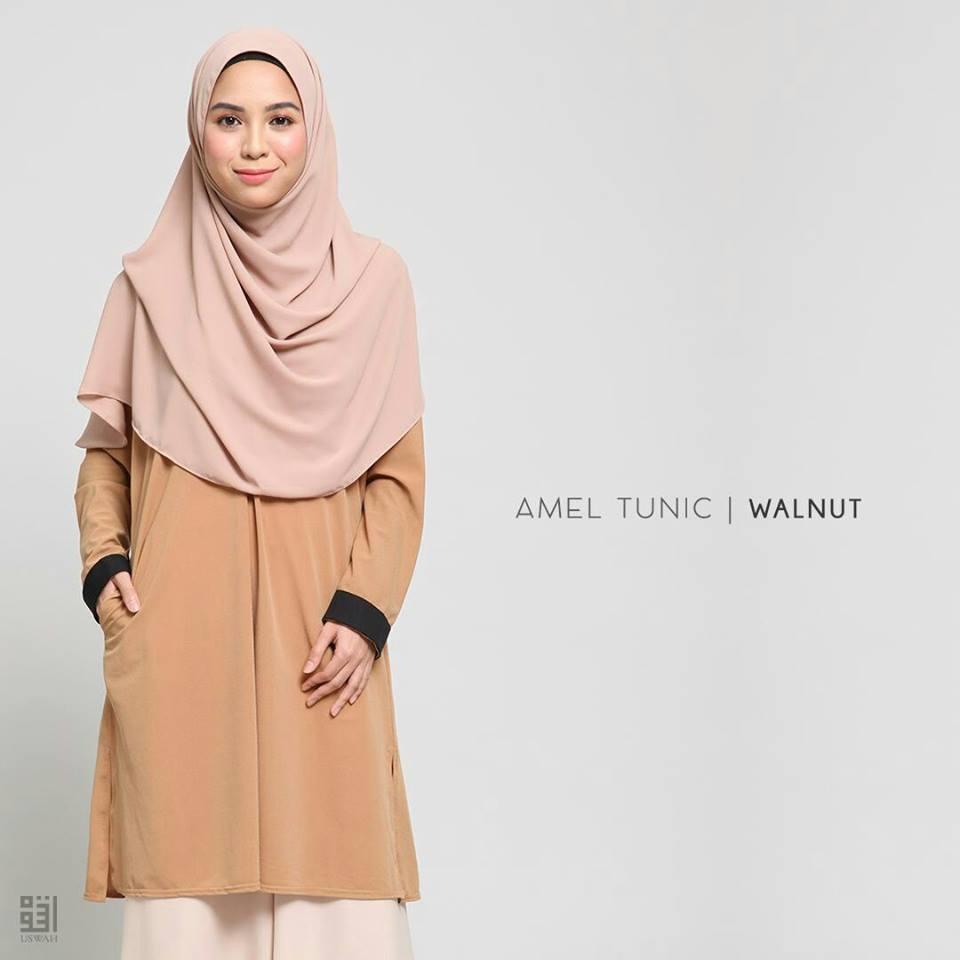 TUNIC MUSLIMAH AMEL WAKNUT