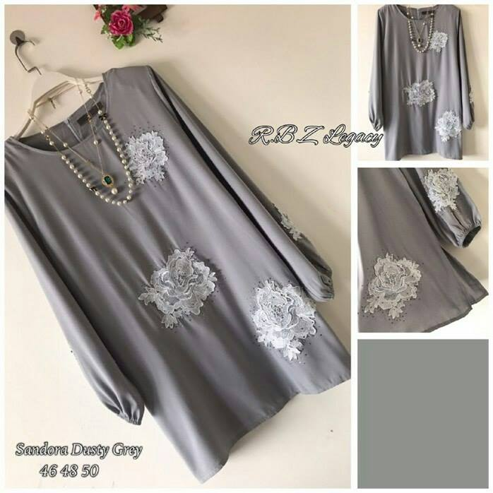 BLOUSE SANDORA GREY