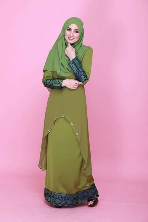 DRESS KURUNG NATASHA SONGKET 1