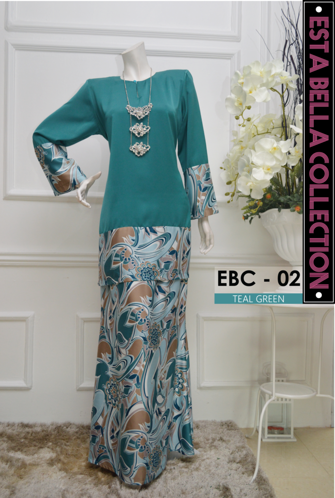 KURUNG MODEN ESTA BELLA COLLECTION EBC02