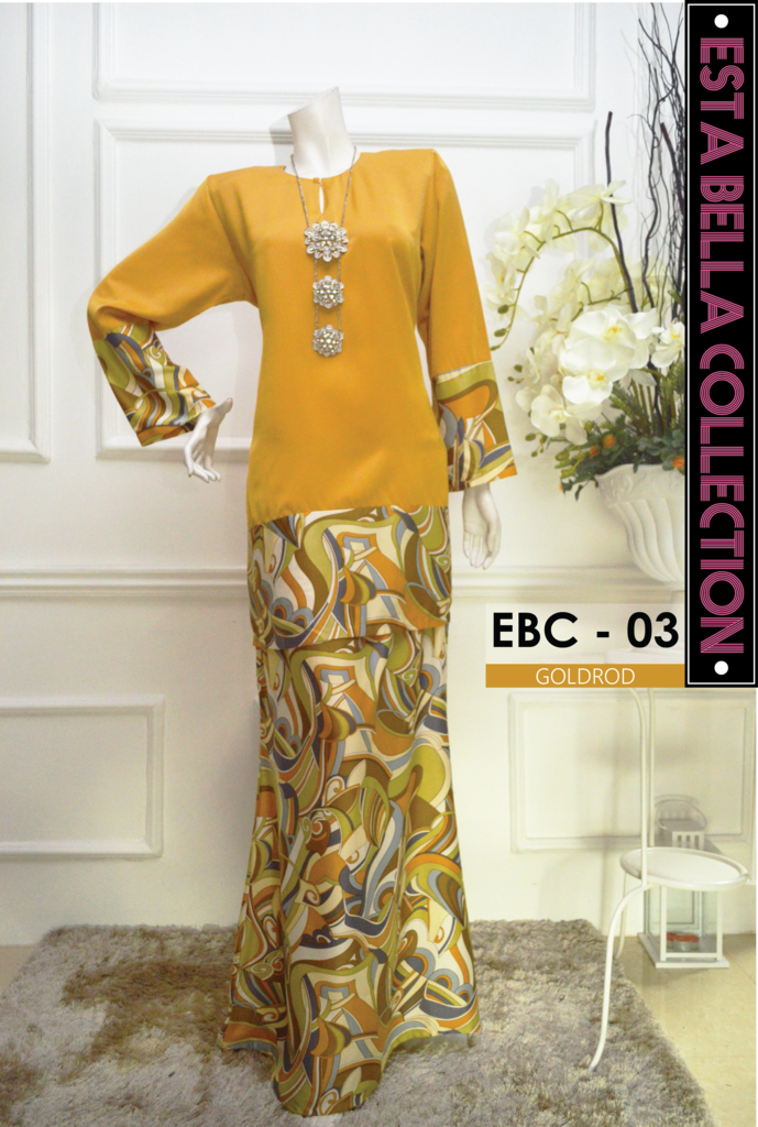 KURUNG MODEN ESTA BELLA COLLECTION EBC03