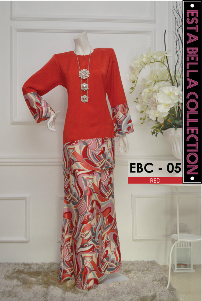 KURUNG MODEN ESTA BELLA COLLECTION EBC05