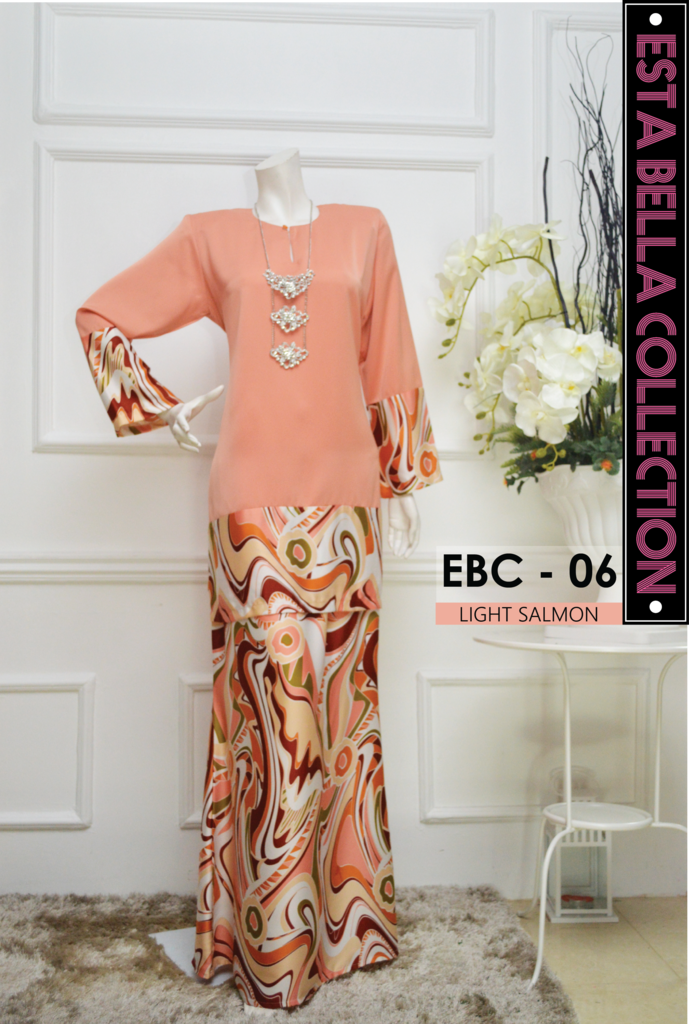 KURUNG MODEN ESTA BELLA COLLECTION EBC06
