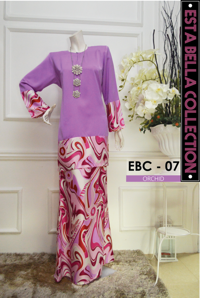 KURUNG MODEN ESTA BELLA COLLECTION EBC07