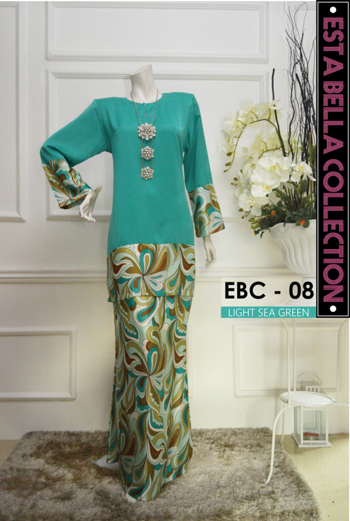 KURUNG MODEN ESTA BELLA COLLECTION EBC08