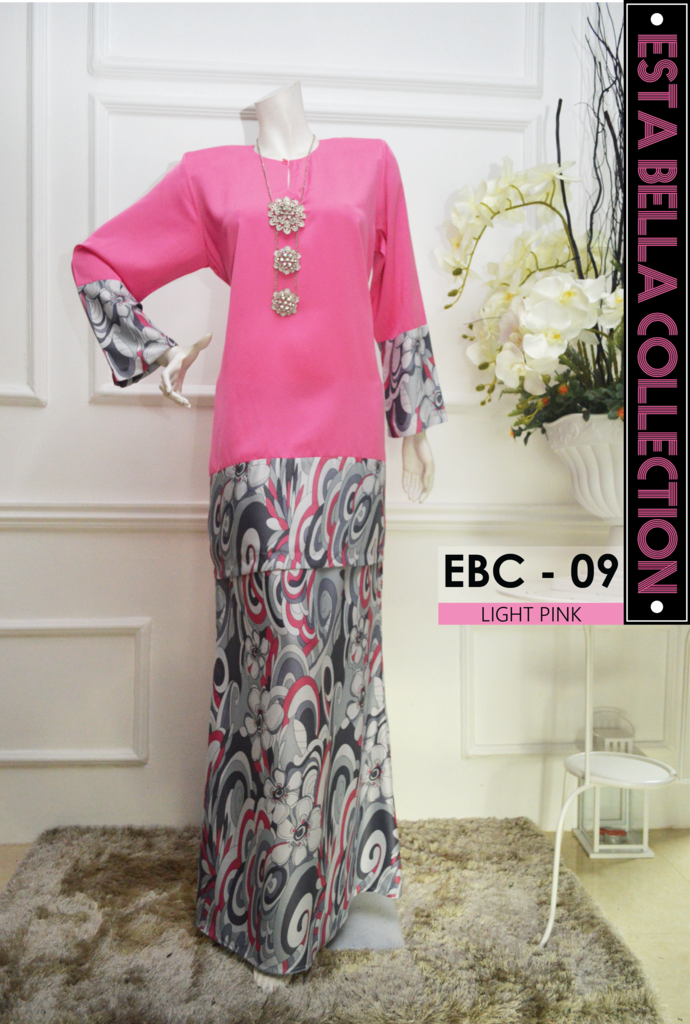 KURUNG MODEN ESTA BELLA COLLECTION EBC09