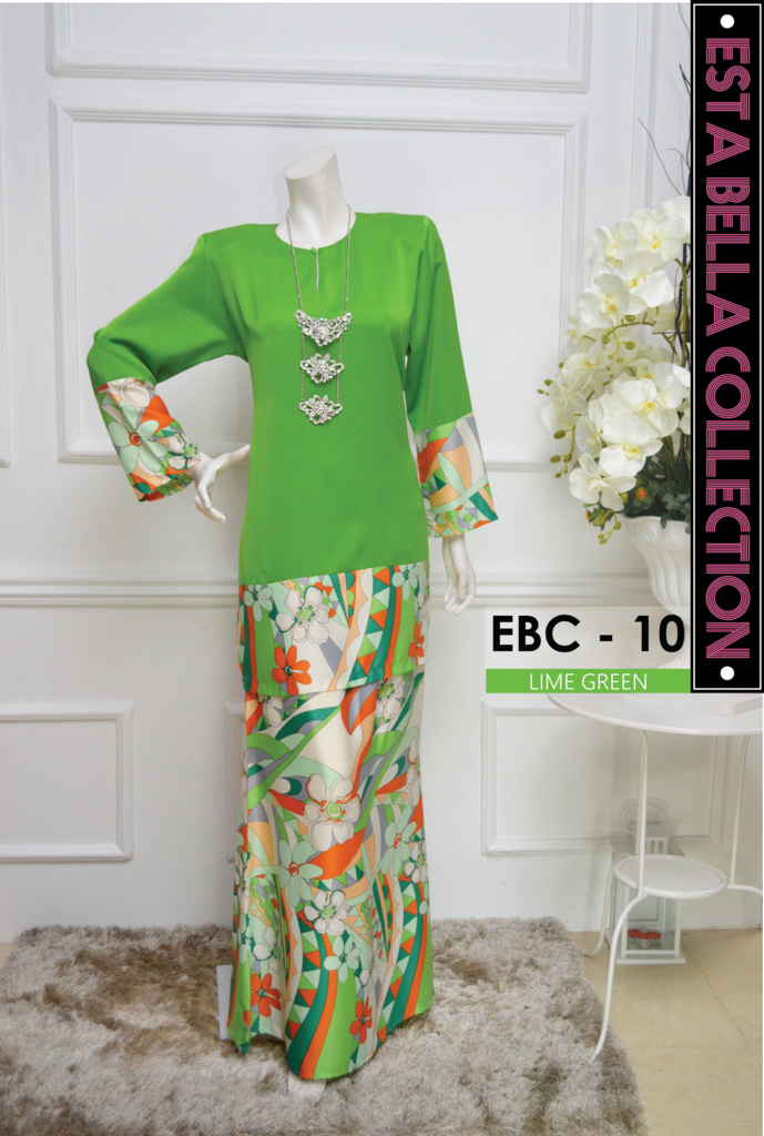 KURUNG MODEN ESTA BELLA COLLECTION EBC10