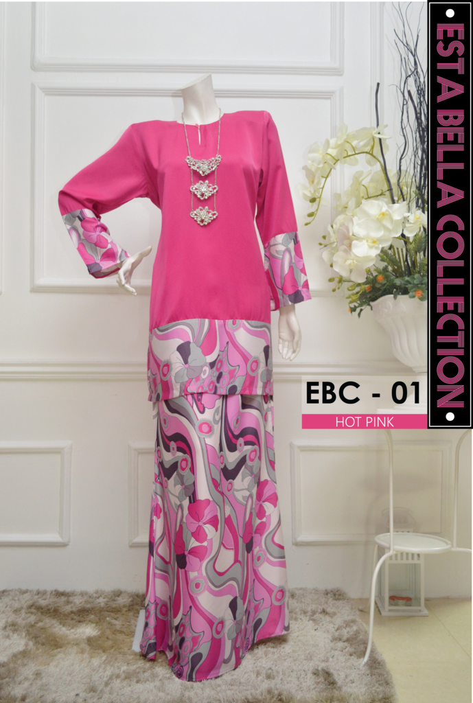 KURUNG MODEN ESTA BELLA COLLECTION EBC11