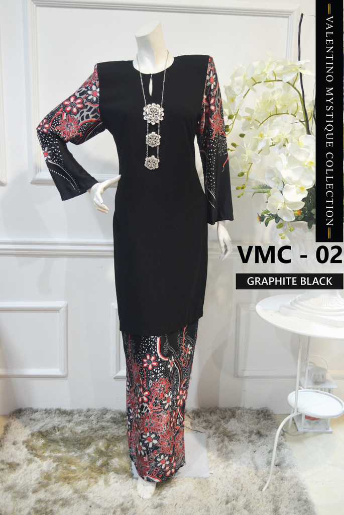 KURUNG MODEN VALENTINO MYSTIQUE COLLECTION VMC02 A