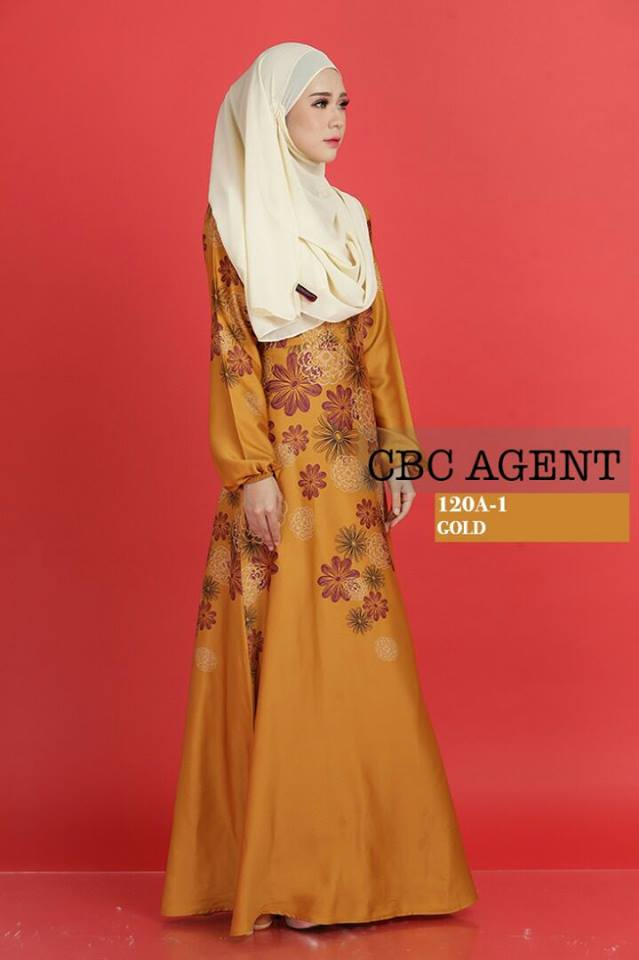 DRESS ADELIA 120A 1 GOLD