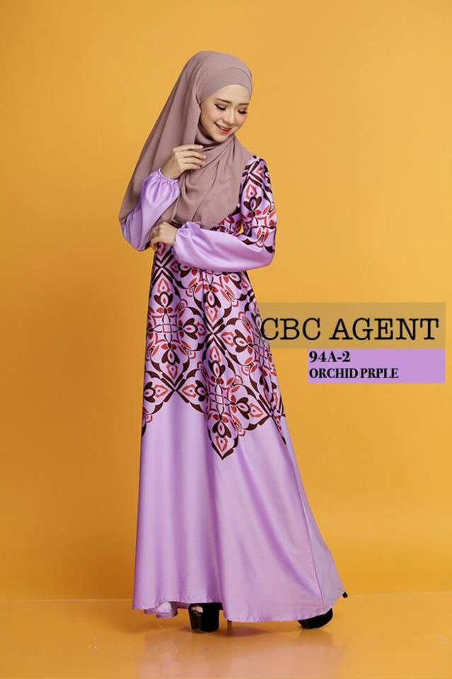 DRESS ADELIA 94A 2 PURPLE