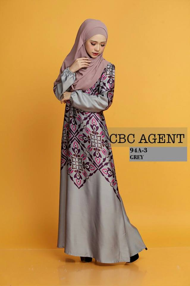 DRESS ADELIA 94A 3 GREY