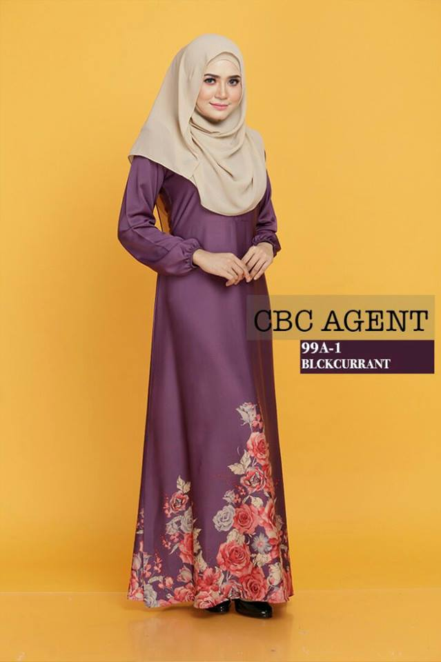 DRESS ADELIA 99A 1 BLACKCURRENT