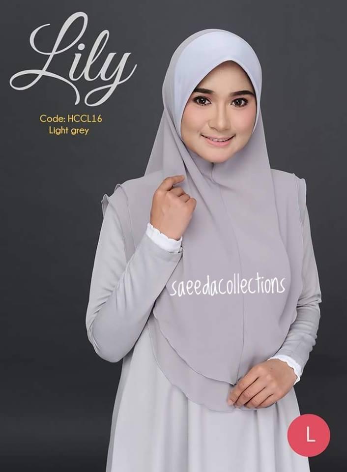 TUDUNG RAYA CHIFFON LABUH L LILY HCCL16