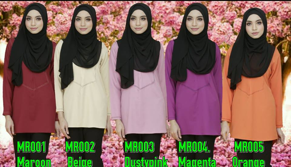 BLOUSE MUSLIMAH MAIRA ALL