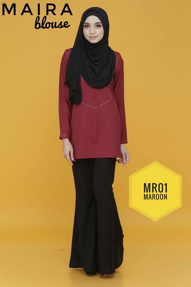 BLOUSE MUSLIMAH MAIRA MR01