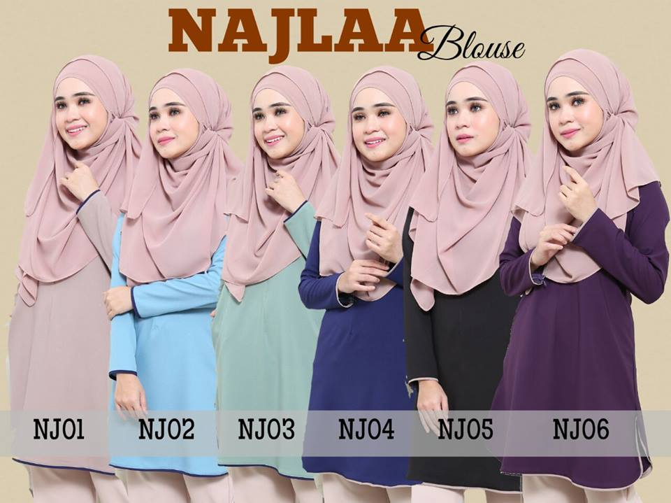 BLOUSE NAJLAA ALL