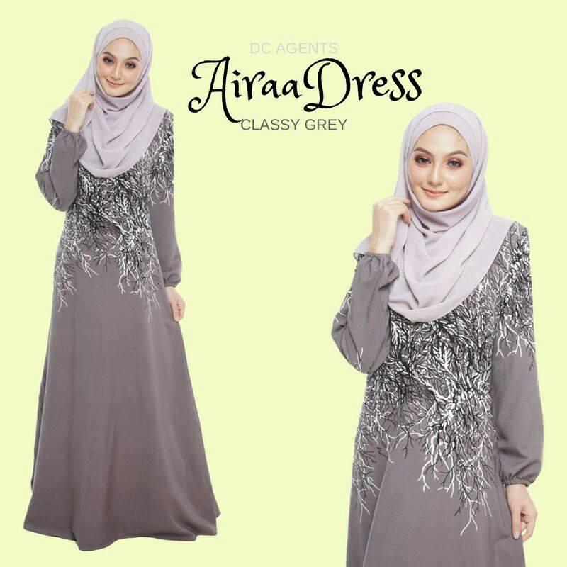 DRESS AIRAA CLASSY GREY