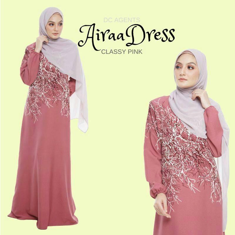 DRESS AIRAA CLASSY PINK
