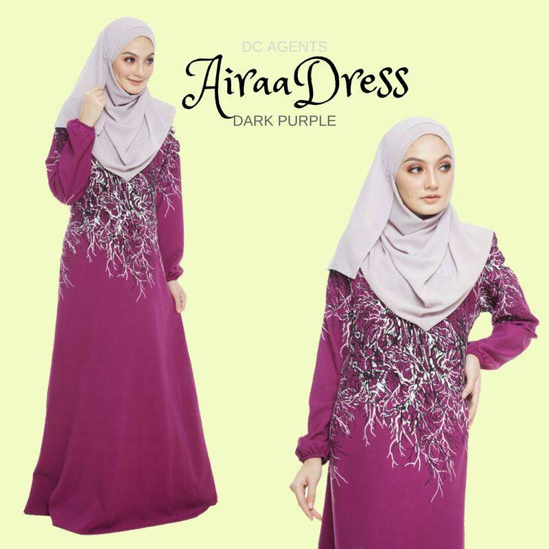 DRESS AIRAA DARK PURPLE