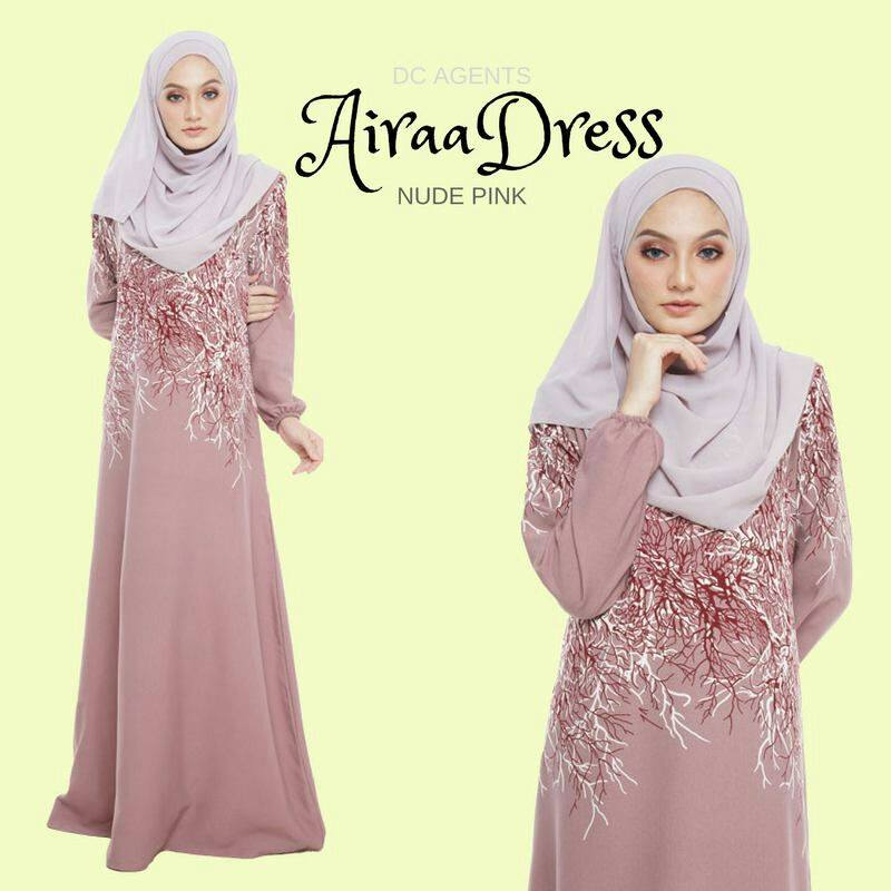 DRESS AIRAA NUDE PINK