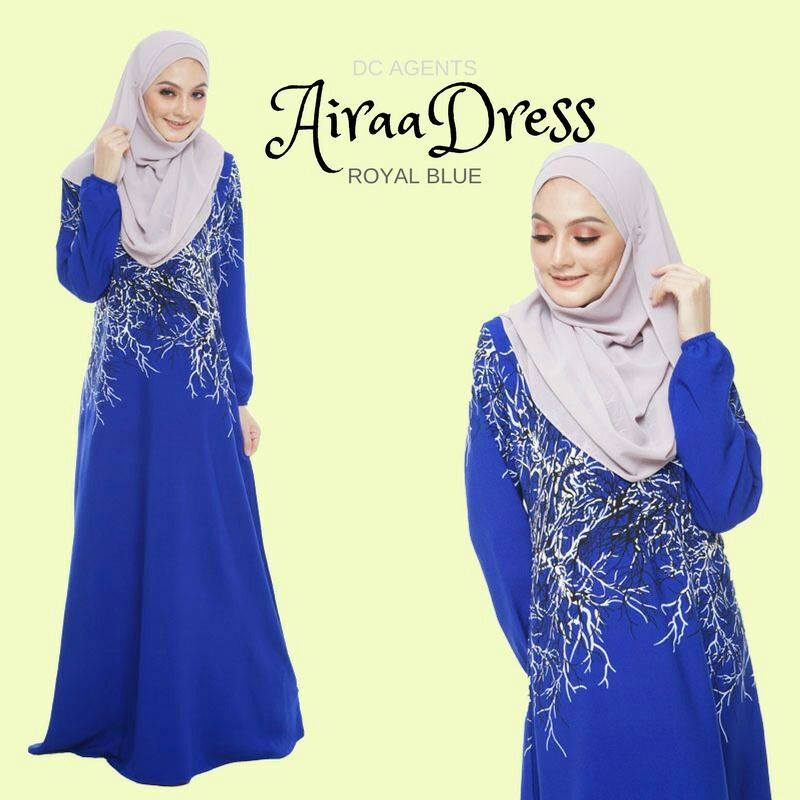 DRESS AIRAA ROYAL BLUE