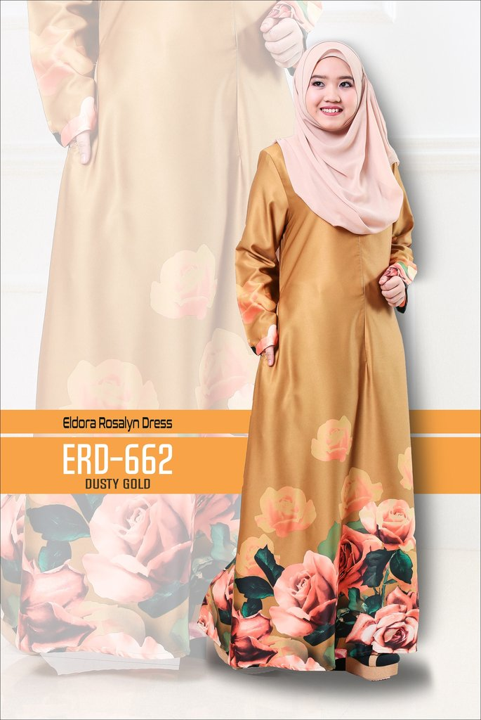 DRESS ELDORA ROSALYN ERD662 B