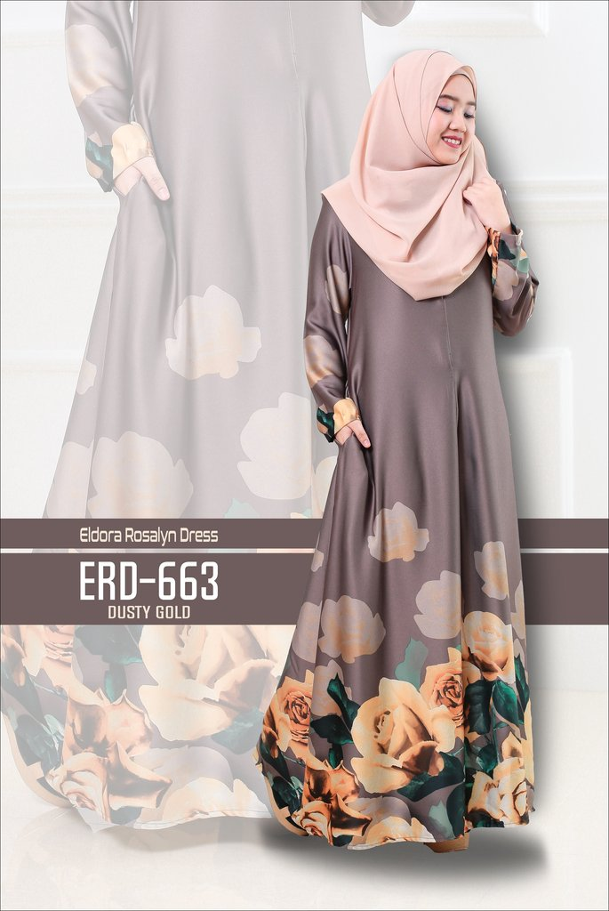 DRESS ELDORA ROSALYN ERD663 B