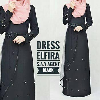DRESS ELFIRA BLACK