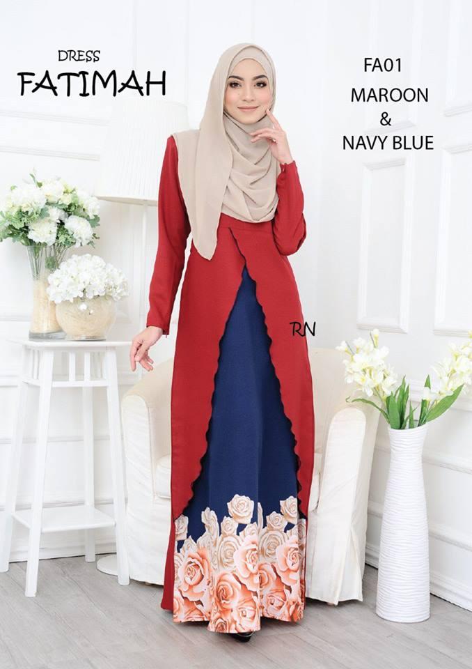 DRESS FATIMAH FA01