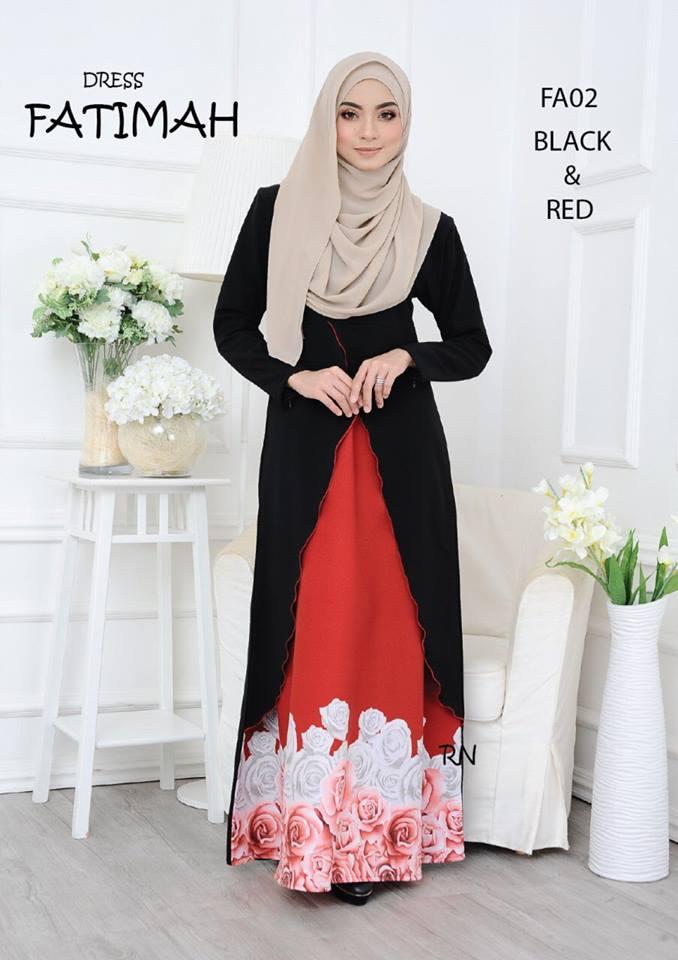 DRESS FATIMAH FA02