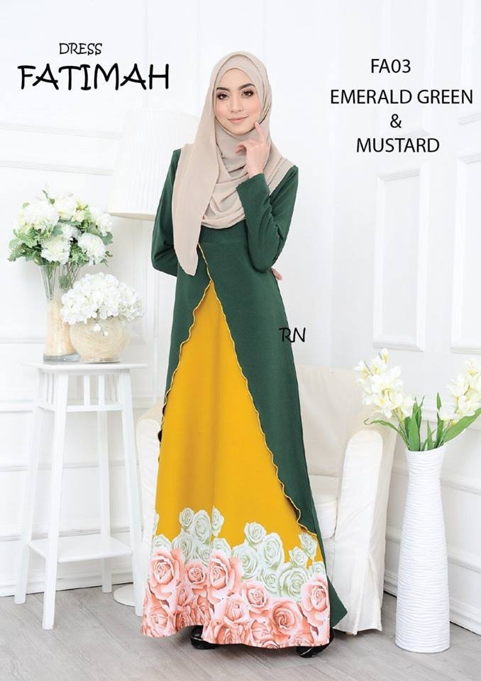 DRESS FATIMAH FA03