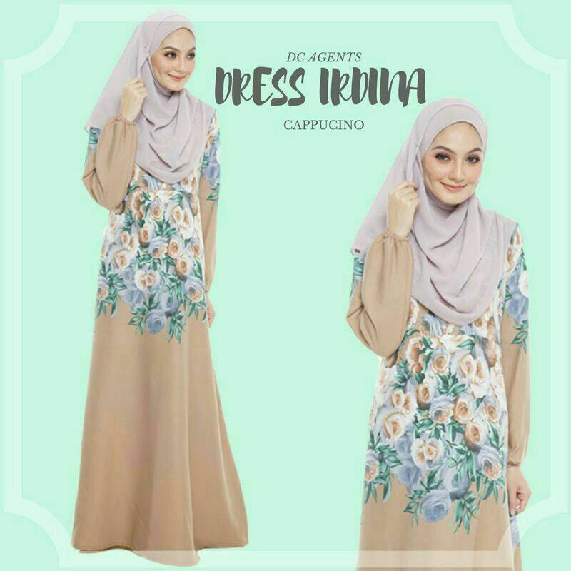 DRESS IRDINA CAPPUCINO
