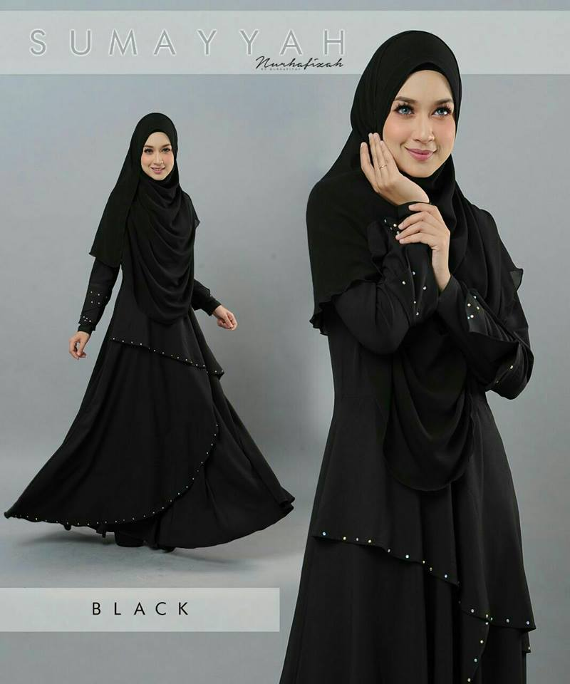 DRESS SUMAYYAH BLACK
