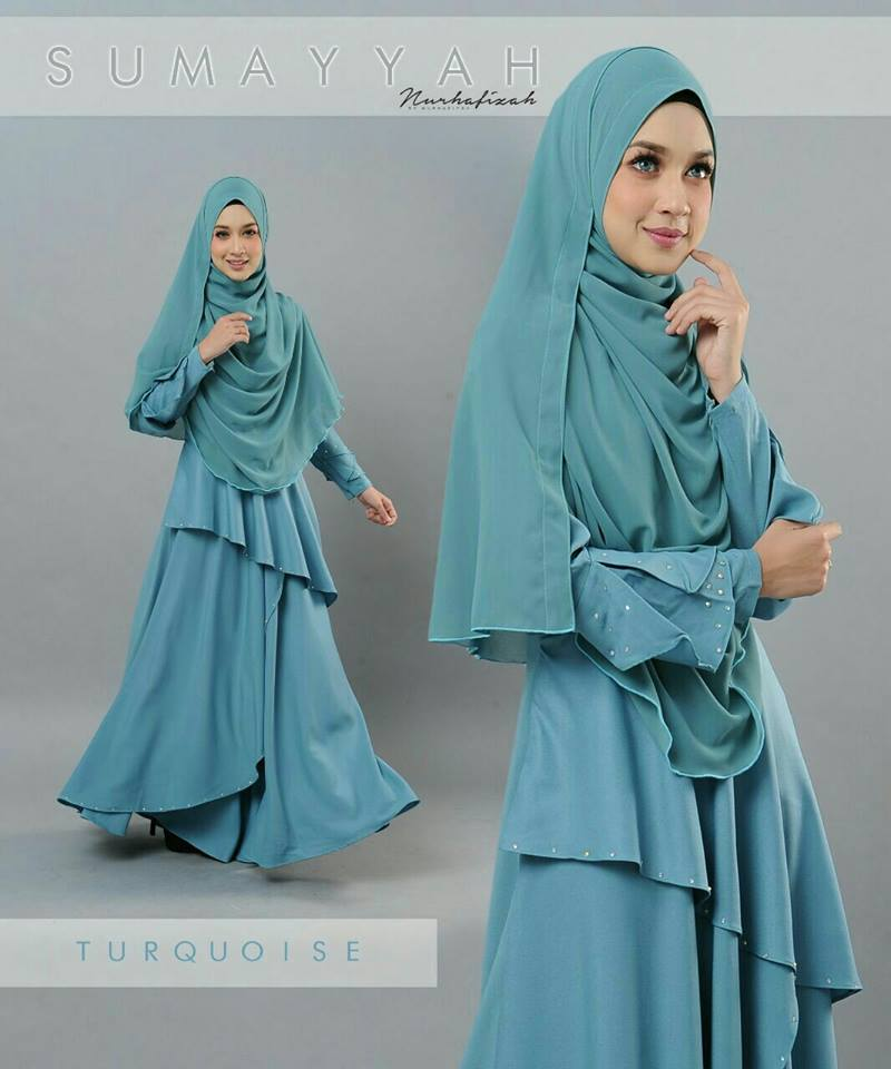 DRESS SUMAYYAH TURQOISE