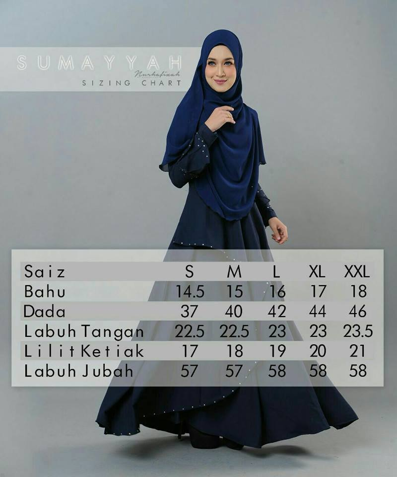 DRESS SUMAYYAH UKURAN