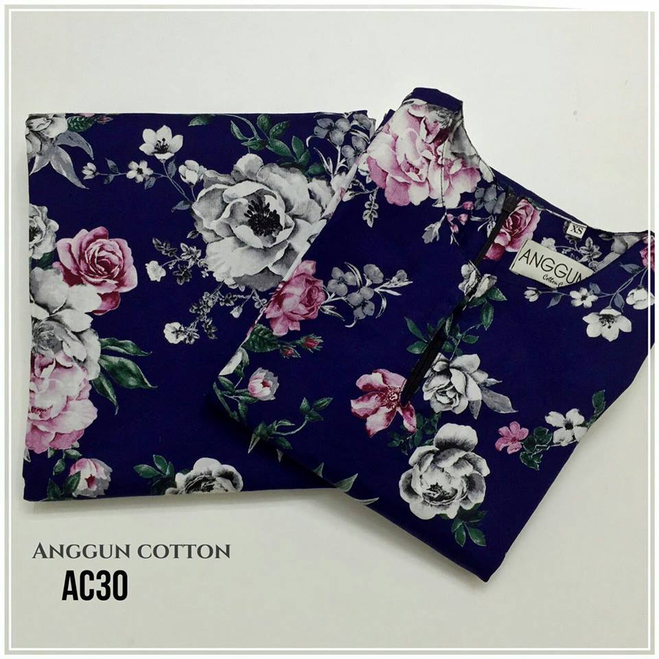 KURUNG MODEN ENGLISH COTTON AC30
