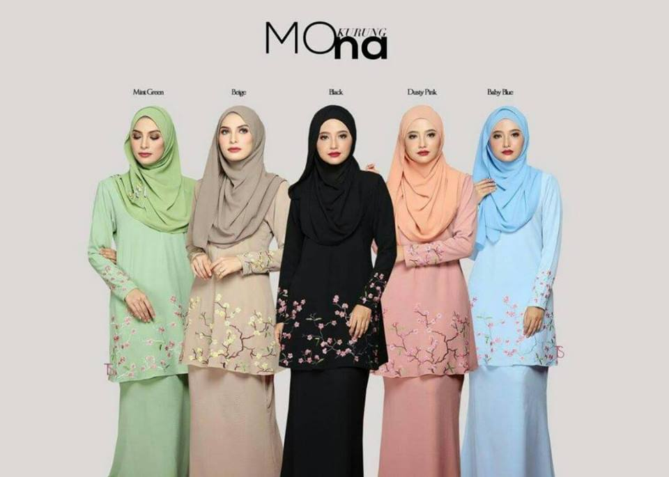 KURUNG MODEN MONA ALL