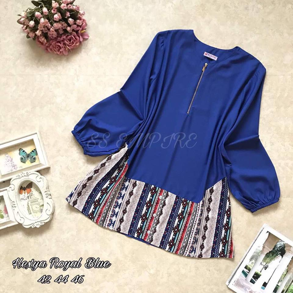 BLOUSE HEXYA BLUE