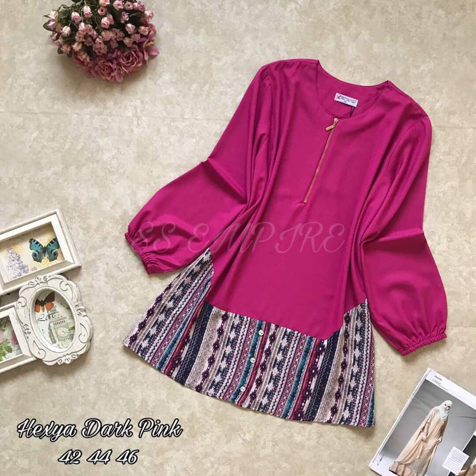 BLOUSE HEXYA PINK
