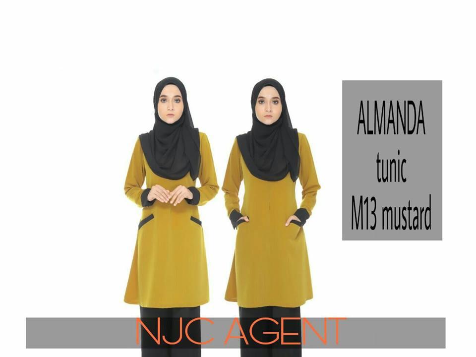 BLOUSE MUSLIMAH ALMANDA M13