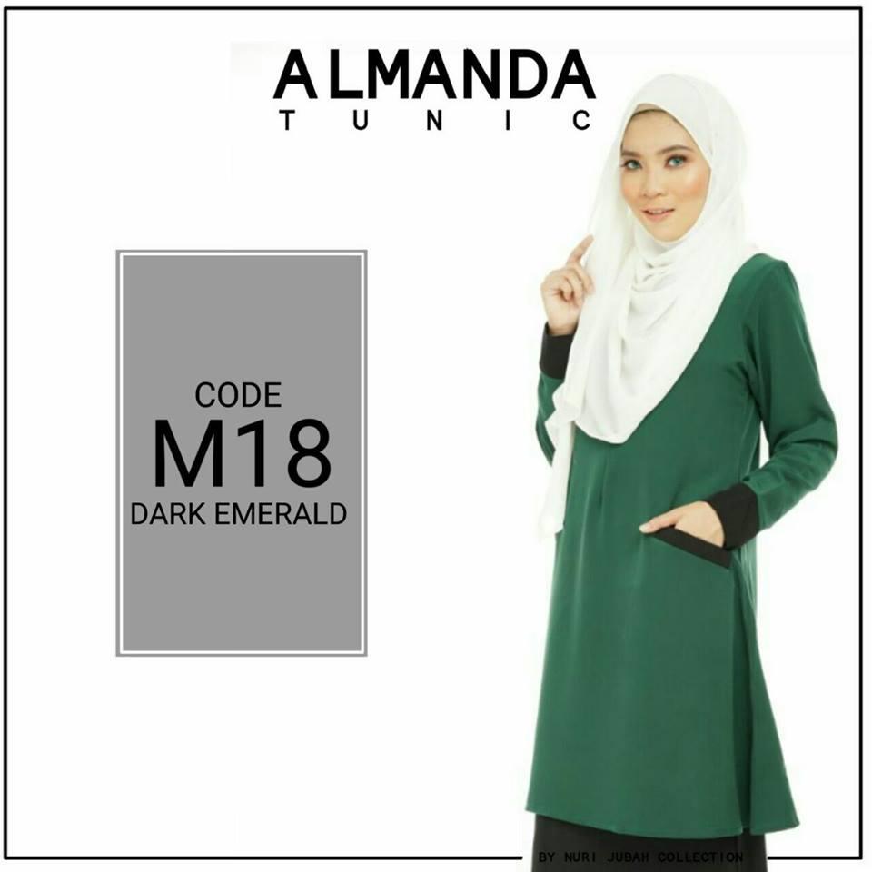 BLOUSE MUSLIMAH ALMANDA M18