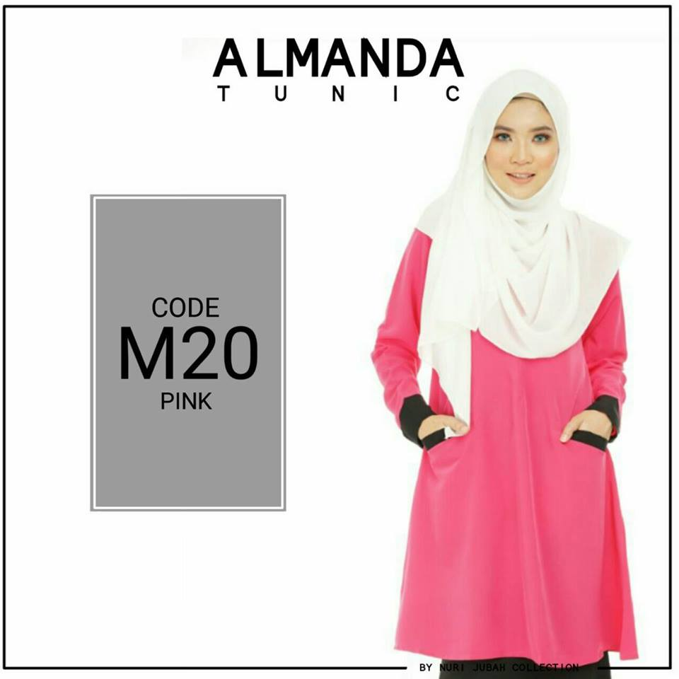 BLOUSE MUSLIMAH ALMANDA M20